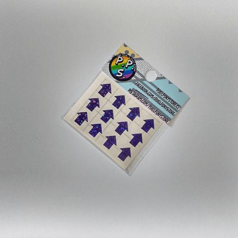Vinilo Adhesivo Para Marcar Lápices - Flechas
