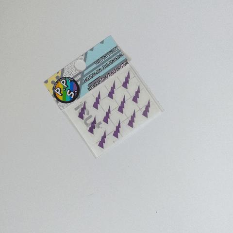 Vinilo Adhesivo Para Marcar Lápices - Rayos