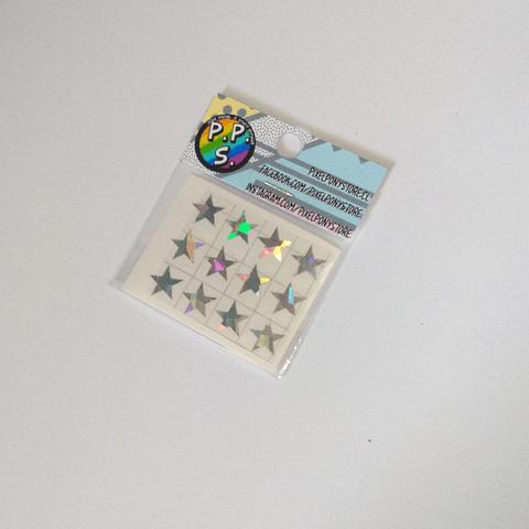 Vinilo Adhesivo Para Marcar Lápices - Estrellas