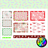 Lámina de Stickers 71 Box Navidad Soft