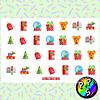 Lámina de Stickers 74 Navidad