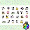 Lámina de Stickers 110 Mickey