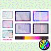 Lámina de Stickers 122 Box Aesthetic Soft