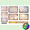 Lámina de Stickers 150 Box Hojas de Otoño Soft