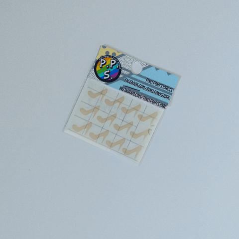Vinilo Adhesivo Para Marcar Lápices - Tacones