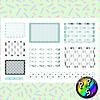 Lámina de Stickers 162 Box Chic Soft