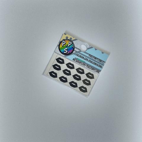 Vinilo Adhesivo Para Marcar Lápices - Labios