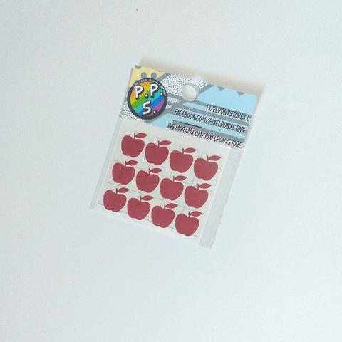 Vinilo Adhesivo Para Marcar Lápices - Manzana