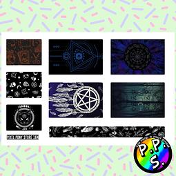 Lámina de Stickers 164 Box Witch