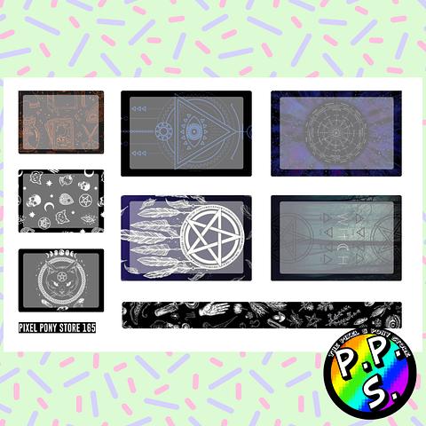 Lámina de Stickers 165 Box Witch Soft