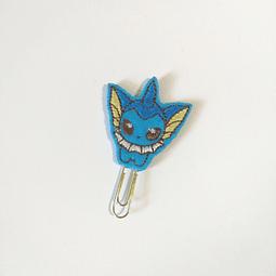 Clip Bordado Pokemon - Vaporeon