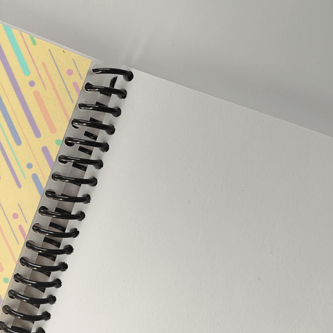 Libreta Colección Memphis - Amarilla