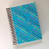 Libreta Colección Memphis - Azul