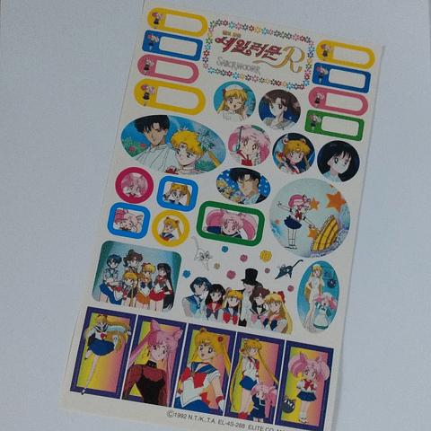Stickers Sailor Moon R Originales - Diseño 1