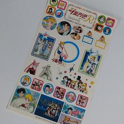 Stickers Sailor Moon R Originales - Diseño 4