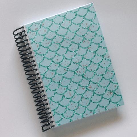 Libreta Colección Sirena - Green Mermaid Skin
