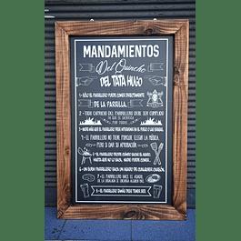 Los mandamientos del Quincho