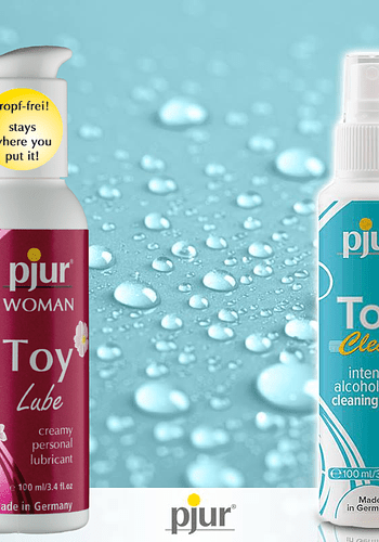 Toy Lube + Toy Clean