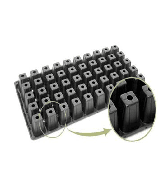 Bandeja Forestal Flexible 50 Cav (pack de 10 Unidades)