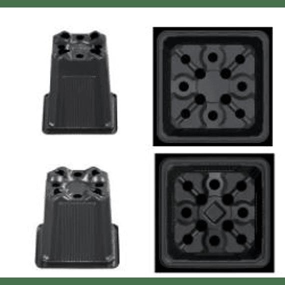 Macetero Cuadrado 7x7x6.5 (venta por 300 unidades)