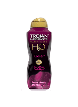 Lubricante Trojan H2O Closer