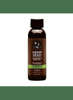 Aceite masaje Hemp Seed Jengibre 60 ml