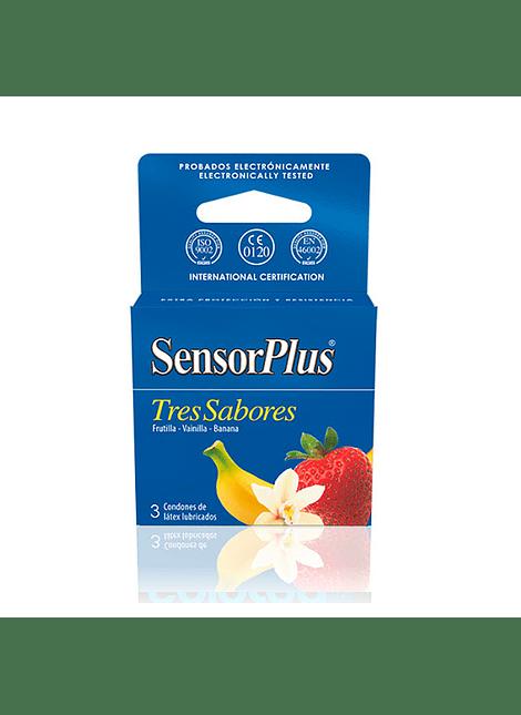 Sensor Plus Tres Sabores x 3