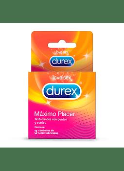 Durex Máximo Placer x 3