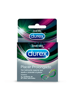 Durex Placer Prolongado x 3