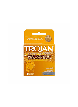 Trojan Naked Sensations x 3