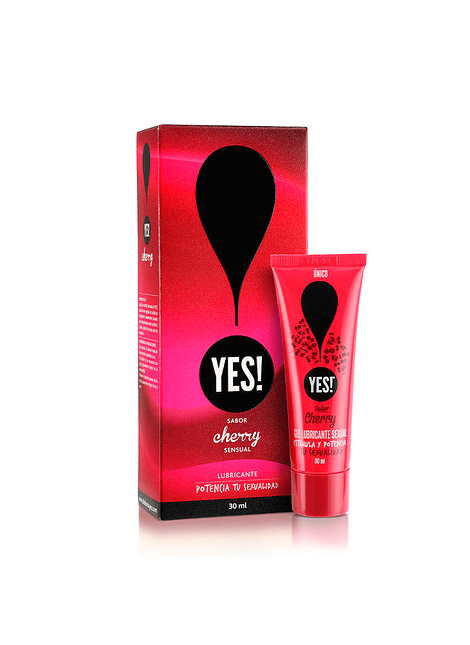 Lubricante Yes Cherry