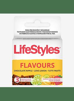 Lifestyles Flavours x 3