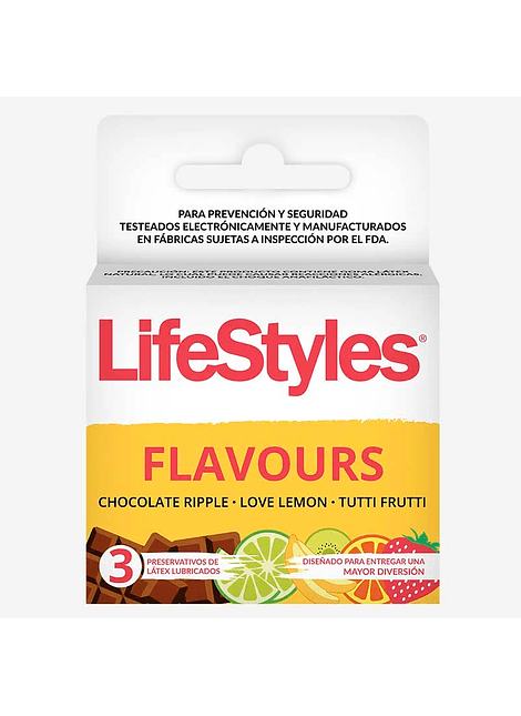 Lifestyles Flavours x 3