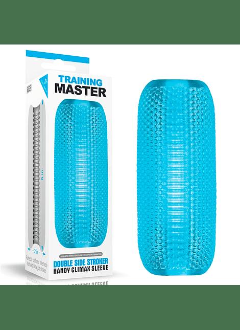 Masturbador Training Master Doble Abertura