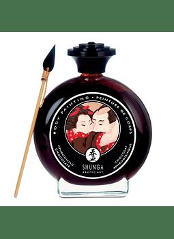 Pintura corporal comestible chocolate Shunga