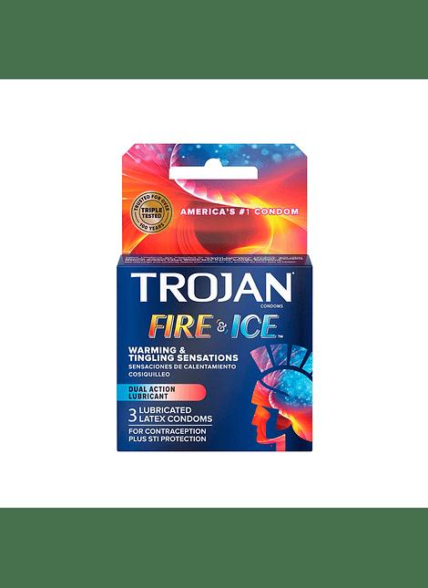 Trojan Fire & Ice x 3