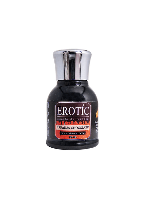 Aceite Masaje Erotic Naranja Chocolate