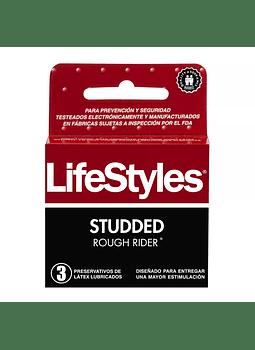 Lifestyles Studded x 3