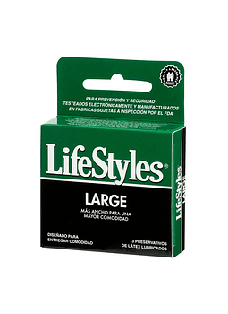 Lifestyles Large x 3