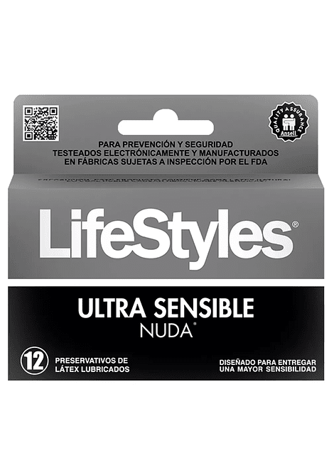 Lifestyles Nuda Ultra Sensible x 12