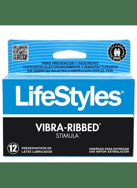 Lifestyles Vibra Ribbed x 12