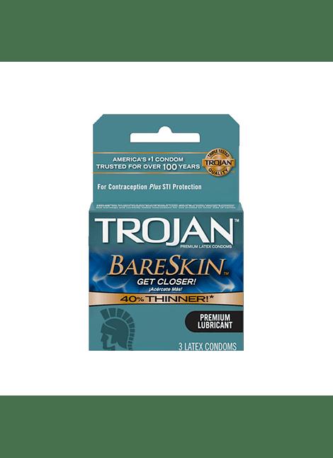 Trojan Bareskin x 3