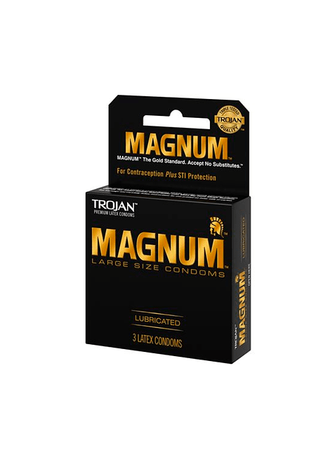 Preservativo Trojan Magnum 3 unidades