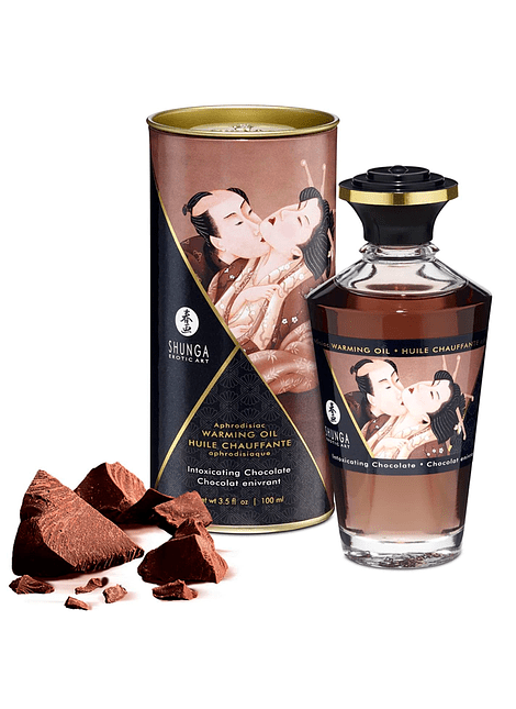 Aceite Afrodisíaco Comestible Chocolate Shunga