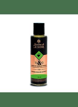 Aceite Masaje Dulce Cítrico 125 ml