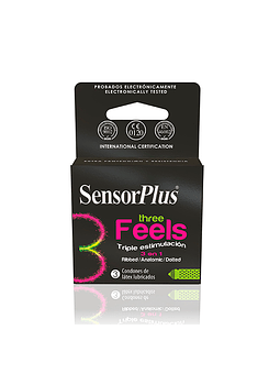 Preservativos Sensor Three Feels
