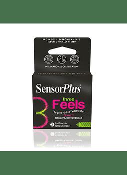 Sensor Plus Three Feels x 3
