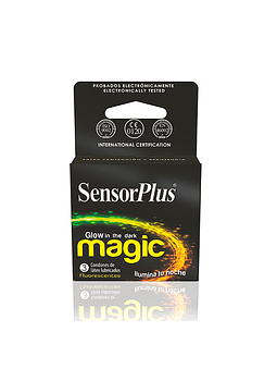 Preservativos Sensor Plus Magic