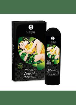 Intensificador orgánico Lotus Noir Shunga