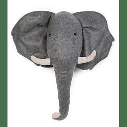 Cabeza de Peluche - Elefante